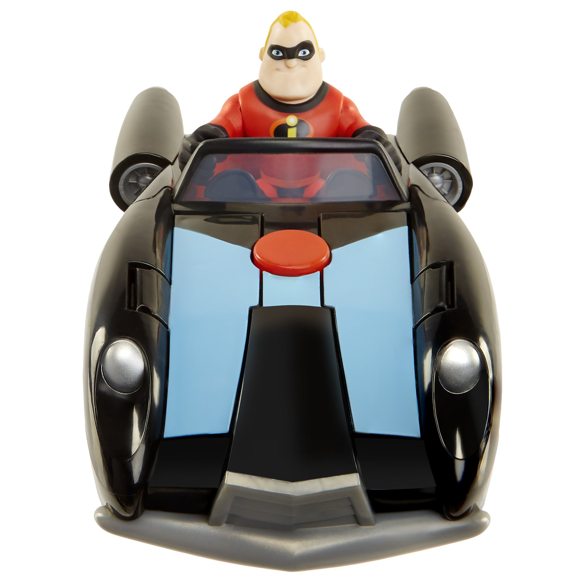 The Incredibles 2 Incredibile Car & Mr. Incredible Action Figure 2-Piece Set, Black Car and Red Mr. Incredible Figure, Medium by The Incredibles 2 (Image #2)
