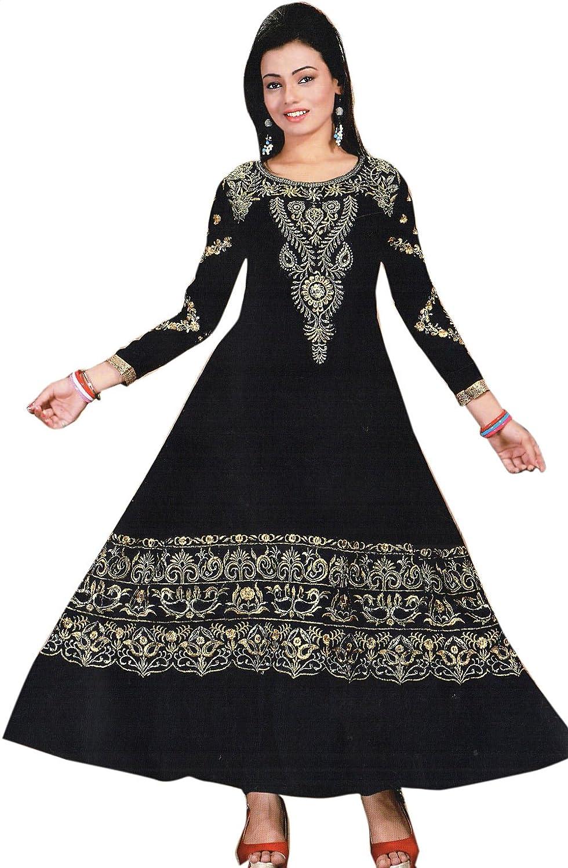 Exotic India Anarkali Flared K SKN87-ca