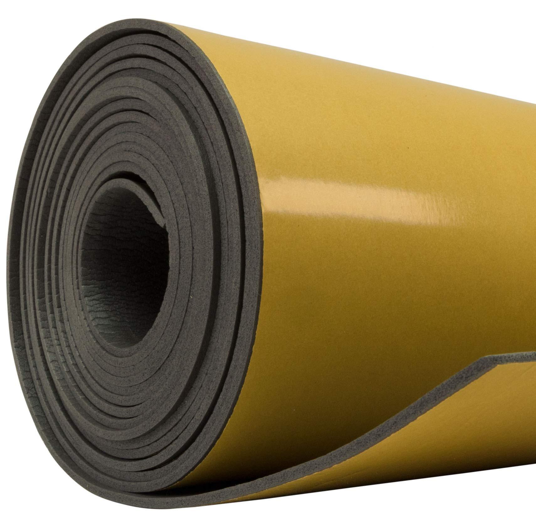 Siless Liner 157 mil 30 SqFt Sound Deadening Foam - Sound Deadener Mat - Car Sound Dampening material - Sound dampener - Sound deadening mat sound Insulation - Car Sound deadening Bulk Kit Trunk Door