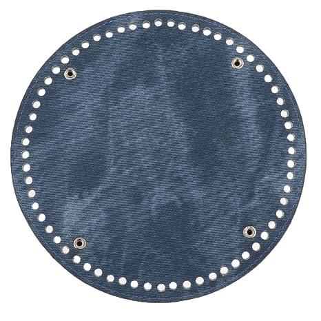 DIY Crochet Bag Nail Bottom Shaper Pad Denim Bag Insert Cushion Base Round
