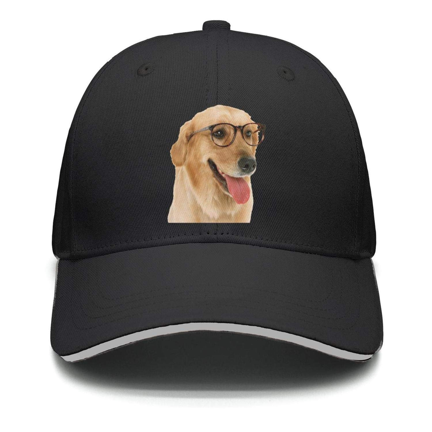 IOCZXTGH Unisex Puppy Dog Pattern Baseball HatsGolf Adjustable Mesh Hat Cap