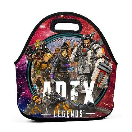 6b8b65201ddb Amazon.com : Bbkbagg3 Apex-Legend Portable Bento Lunch Bags Boxes ...