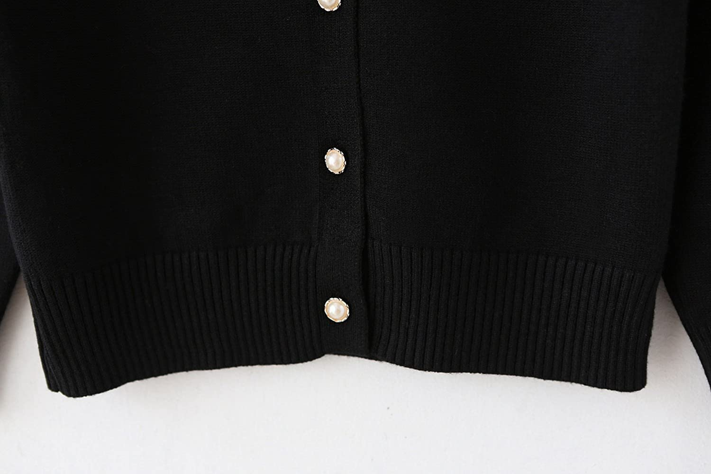 a484d55eb9aa Amazon.com  SMILING PINKER Girls Cardigan Sweater School Uniforms ...