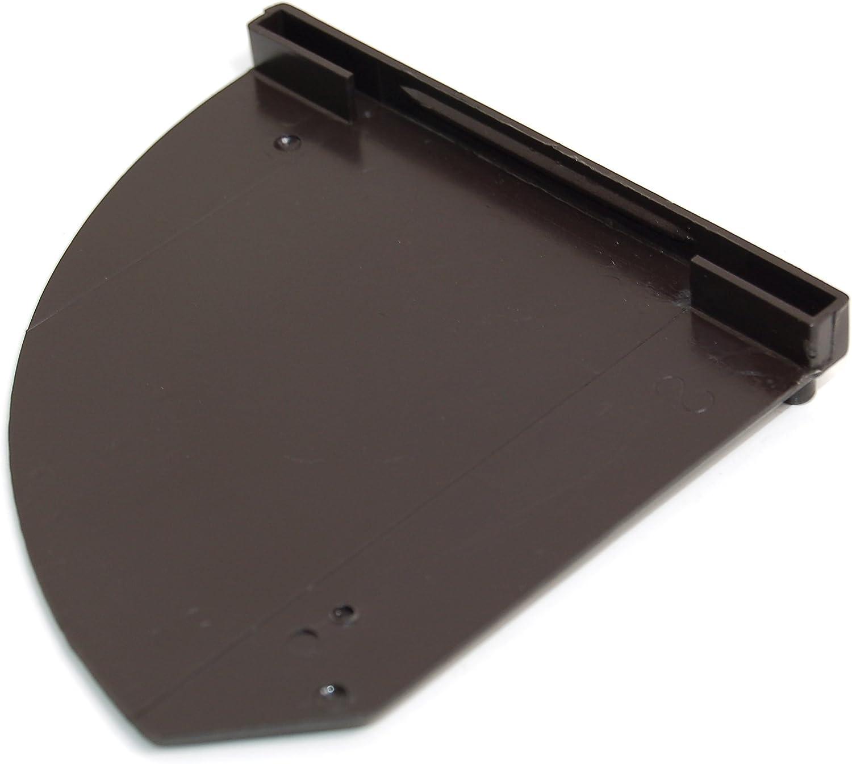 Hygena 03291051 Schreiber - Tapa de cristal para campana extractora izquierda