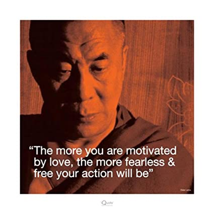 Amazon Dalai Lama IQuote Poster 4040x4040 Inch Posters Prints Adorable Dalai Lama New Year Quotes