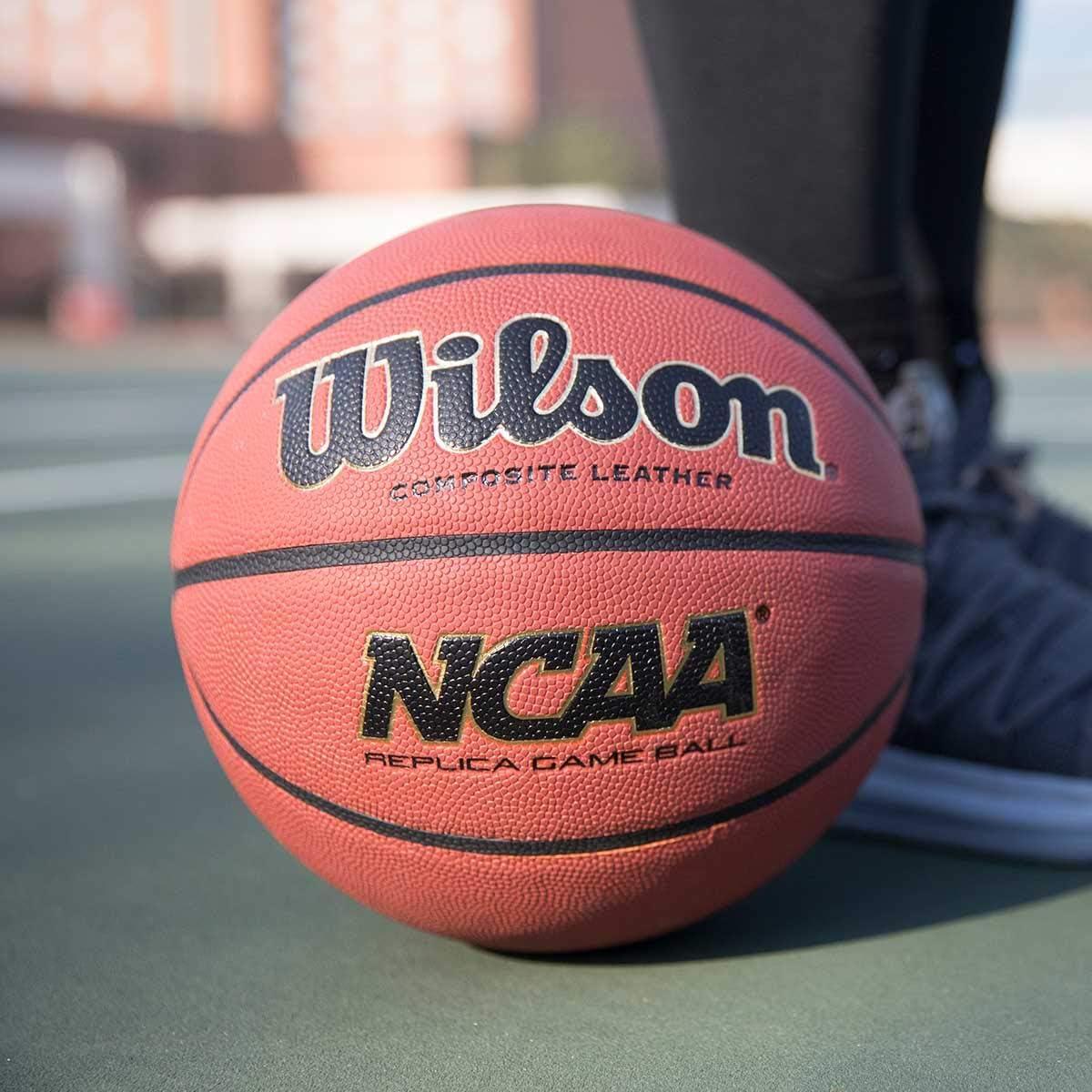 Wilson NCAA réplica Juego Baloncesto - WTB0731, Marrón: Amazon.es ...