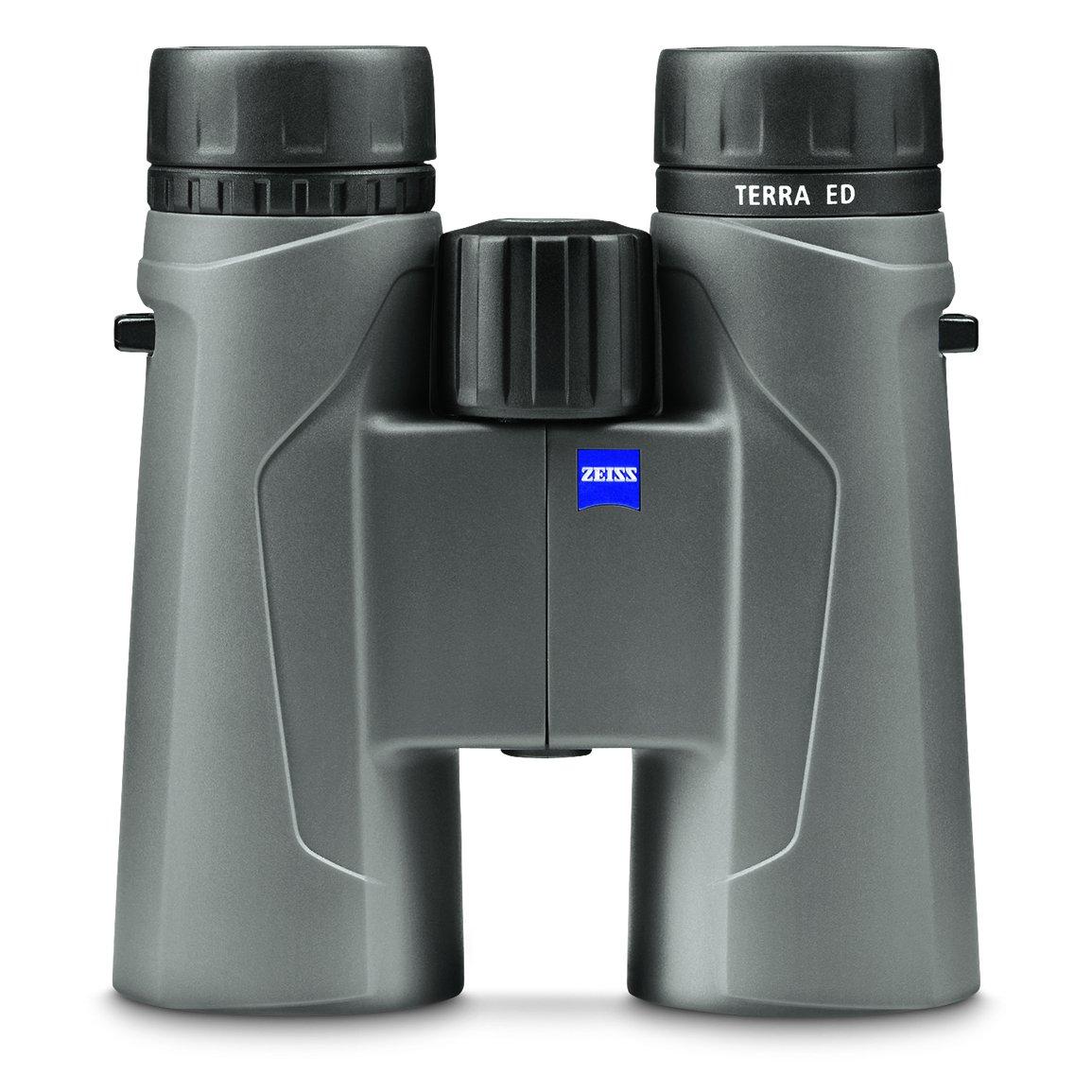 Zeiss 524204 9907 10 x 42 mm Terra ED双眼鏡(クールグレー) B06WW9P1NB
