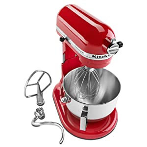 KitchenAid HD KG25HOXER PRO Stand Mixer Empire Red…