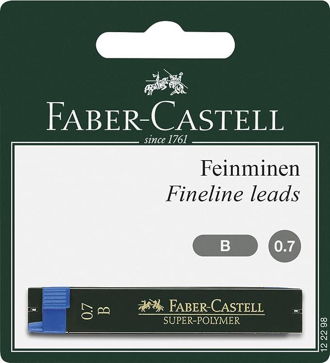 Faber-Castell A.W Druckbleistift Poly Matic petrol 133355 Strichst/ärke 0.7 mm