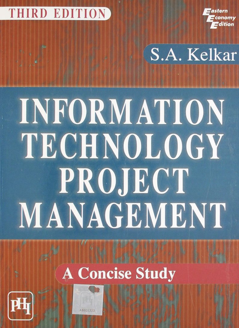 Download Information Technology Project Management: A Concise Study pdf epub
