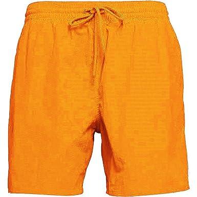 0f76685d4b RF5ltd Mens Plain Matching & Contrast Colour String Plain Swimming Shorts &  Trunks from UK S