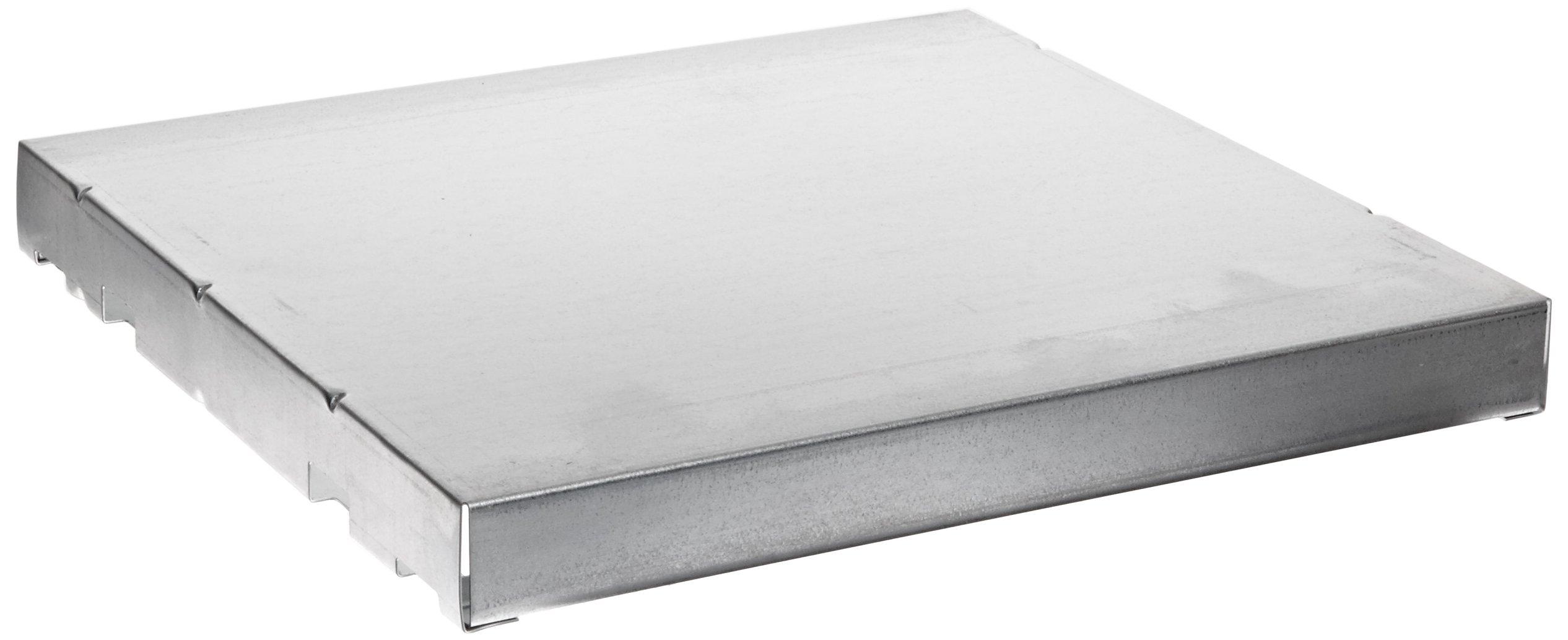 Justrite 29935 SpillSlope Galvanized Steel Shelf, 13-3/8'' Width x 13'' Depth, For 4 Gallon Safety Cabinet