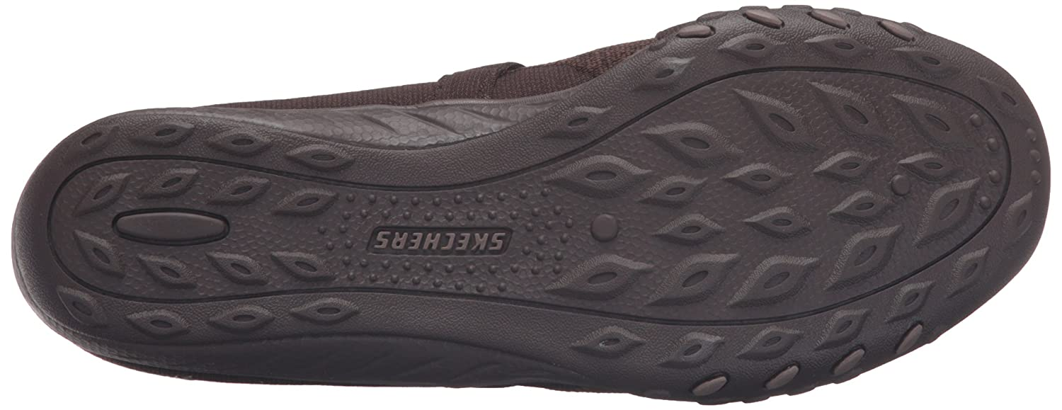Skechers Sport Women's Breathe Flat Easy Lovestory Mary Jane Flat Breathe B01B64BNMM 8.5 B(M) US|Chocolate ef7547