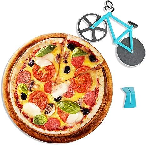 Bicicleta Cortador de Pizza, Rueda de Corte de Acero Inoxidable ...