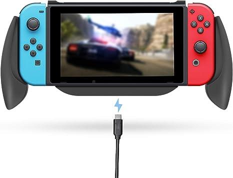 Lammcou Grippro Mango de carga para Nintendo Switch Comfort Grip ...