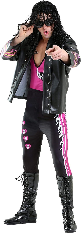 Men's Bret Sacramento Mall Hart WWE Adult Costume Our shop most popular