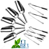 Farmunion 5 Set Sweet Tongs & Scoops Candy Buffet Ice Tong & Scoop Wedding Bar Party NEW