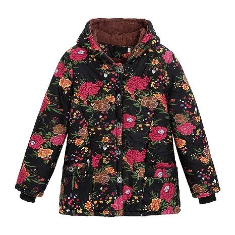 Mujer abrigo Invierno hoodie,Sonnena ❄ abrigo para mujer Caliente ropa casual Al aire libre