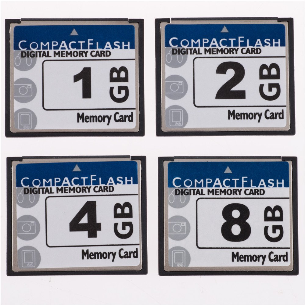 SDCFHS-1G-AFFP FengShengDa 1GB Compact Flash Memory Card Speed Up To 50MB//s Frustration-Free Packaging 1G