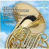 ベローリ:8つの練習曲 C.サン=サーンス:演奏会用小品 H.ノイリンク:バガテル(ホルン)
