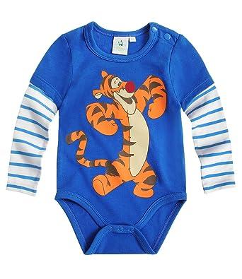 c20a51fc1ac5e Disney Tigger Babies Baby body - blue - 3M: Amazon.co.uk: Clothing