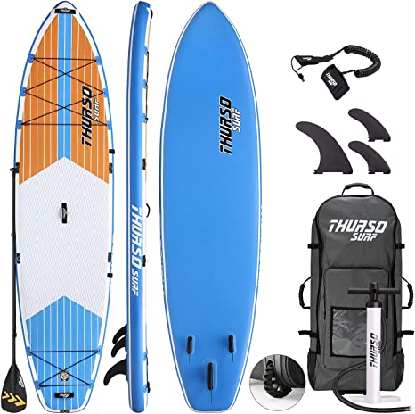 THURSO SURF Tabla Paddle Surf Hinchable MAX 350 x 86 x 15 cm ...