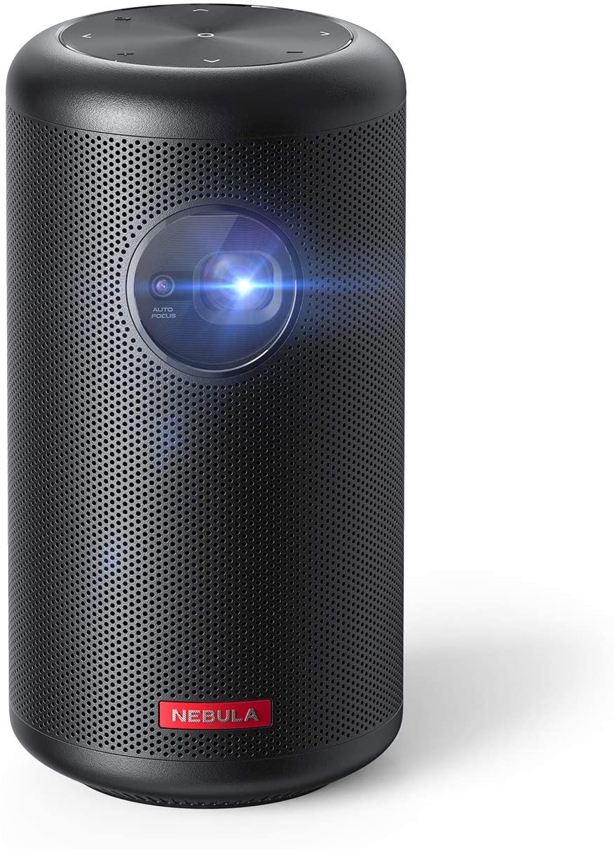 Anker Nebula Capsule Max, Mini-Projecteur Wi-FI de la Taille d'une Cannette de...