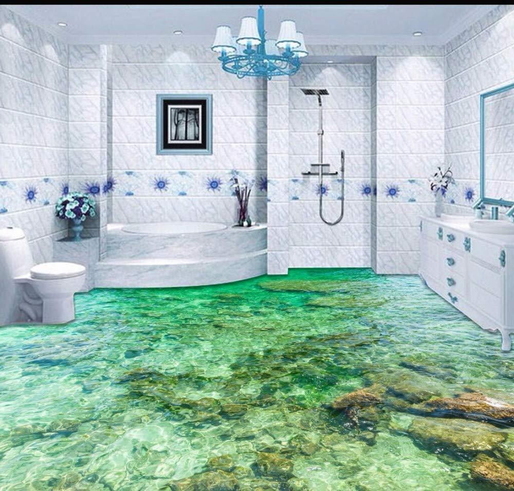 Yosot Tapete Custom Bodenbelag 3D Bodenbelag Malerei Schöne Meerwasser Ripple 3D Wohnzimmer Schlafzimmer Boden Malerei-250cmx175cm