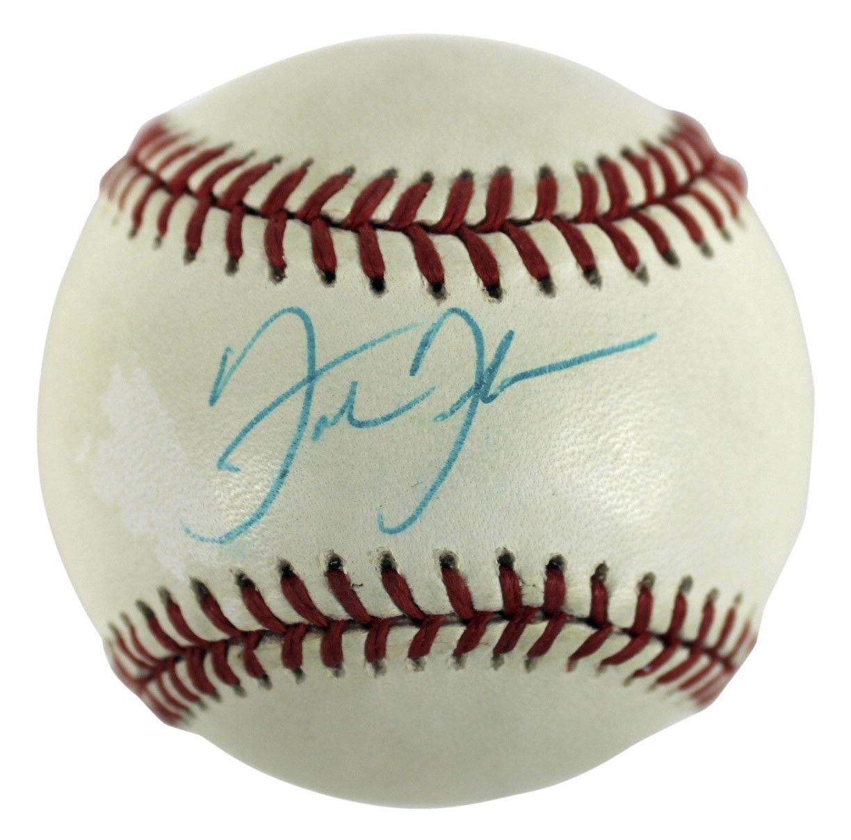 White Sox Frank Thomas Signed Bobby Brown Oal Baseball #C15102 - JSA Certified - Autographed Baseballs