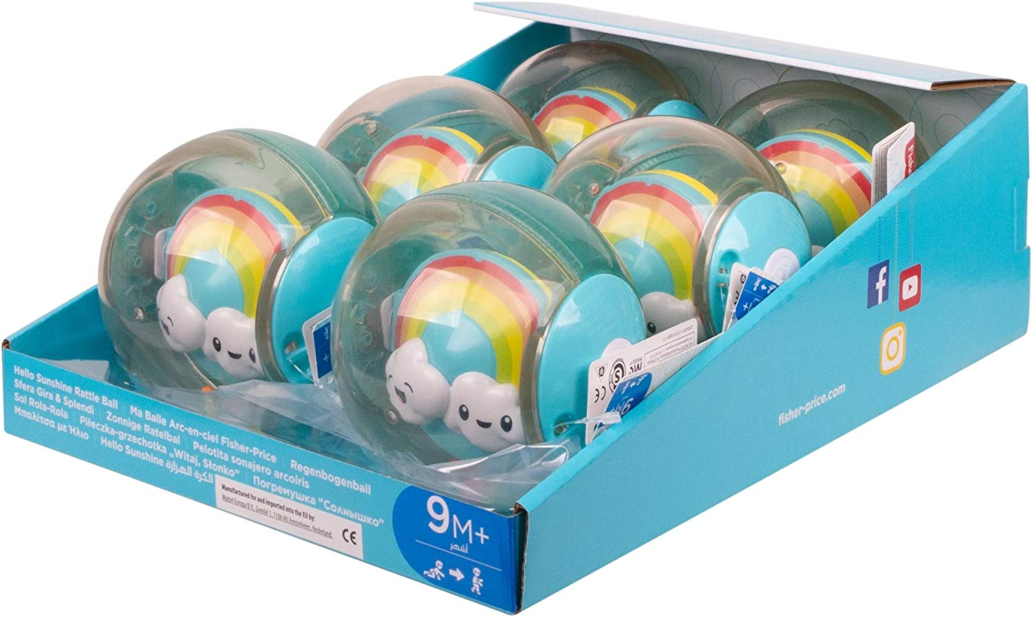 Fisher-Price GJF68 Toy Multicoloured