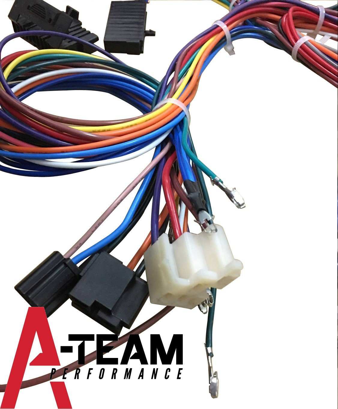Amazon.com: A-Team Performance 12 STANDARD CIRCUIT UNIVERSAL WIRING HARNESS  KIT MUSCLE CAR HOT ROD STREET ROD NEW XL WIRE: Automotive