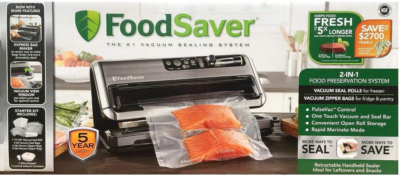 FoodSaver 2-in-1 Vacuum Sealing System with Starter Kit, 5400 Series