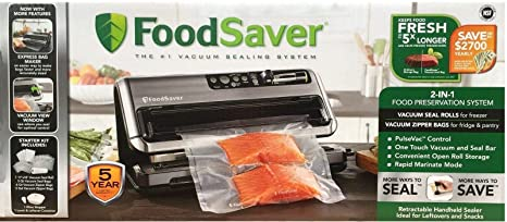 FoodSaver FM5480 2-in-1 Food Preservation System