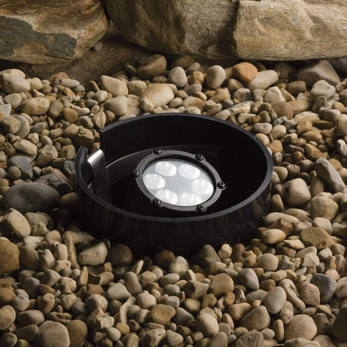 Lighting Accessories 6 Light Fixtures with Textured Black Finish Integrated Bulb Type 6'' 42 Watts