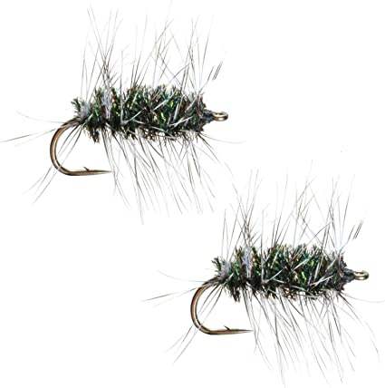 Blue Wing Olive Griffiths Gnat Dry Fly 6 Pack