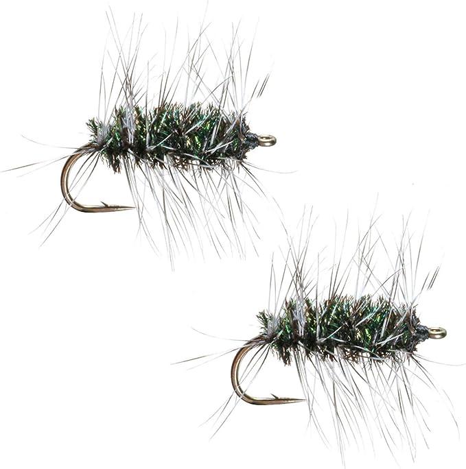 18 3 Size Assortment 14 12 Flies 4 of Each Size 16 Griffith/'s Gnat