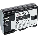 Batteria LP-E6N (2040mAh) per Canon EOS 5D Mark III / 7D Mark II, 60D, 70D, 80D / XC10 / WTF-E5, E7 [con infochip più recente - giugno 2016]