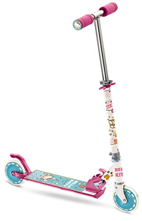 Amazon.com: Mondo Hello Kitty In-Line Street Scooter: Toys ...