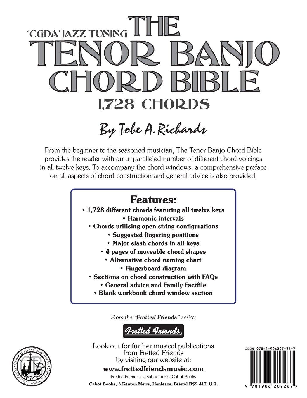 Amazon the tenor banjo chord bible cgda standard jazz amazon the tenor banjo chord bible cgda standard jazz tuning 1728 chords fretted friends 9781906207267 tobe a richards books hexwebz Gallery