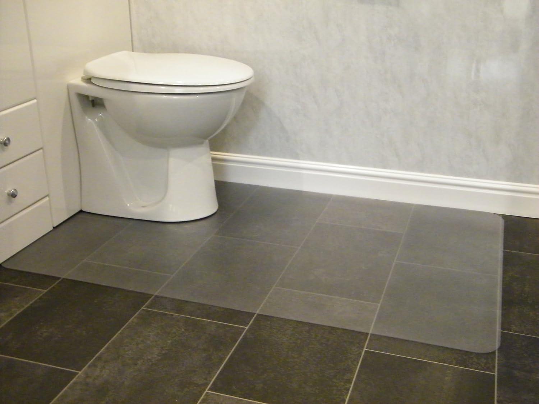 Amazon Com Hometex Biosafe Anti Microbial Toilet Floor Mat 48 X 30 Office Products