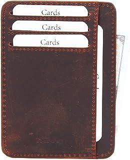 Mercor Portafoglio Uomo Piccolo Porta Carte di Credito RFID   Porta ...