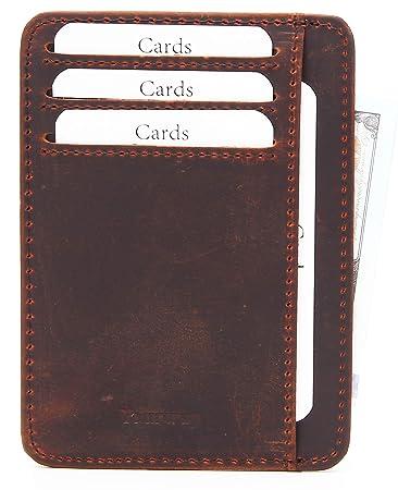 6eefbc54e6bab0 Yourway Sweden Slim Portemonnaie mit Kartenetui | Portmonaise Herren  Geldbörse Männer RFID Kreditkartenetui Brieftasche Portmonee  Kreditkartenhalter