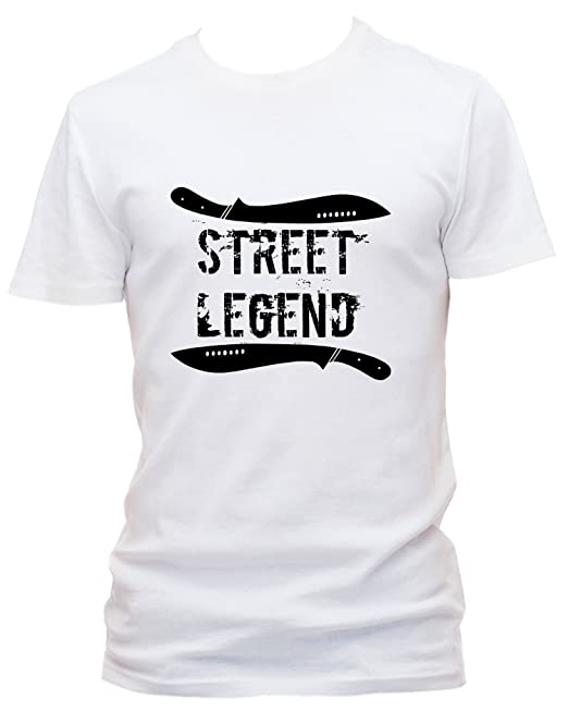 Street Legend - Camiseta Machete Free Fight UFC MMA Weiß Small: Amazon.es: Ropa y accesorios