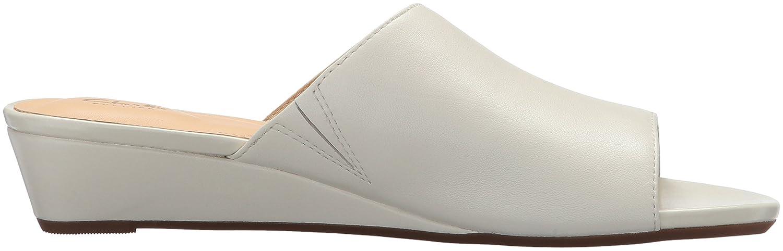Clarks Women's Parram Waltz Slides B072W2LNC6 8.5 M US|White US|White US|White Leather aade68