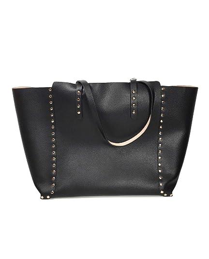 ab739e5101 Zara Women's Reversible studded tote bag 6004/304: Amazon.co.uk ...