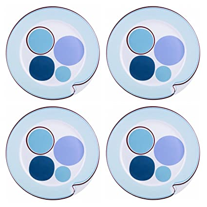 Portion Control Plates 4 Piece Hälsa Dinner Plate For Weight Loss Bariatric and Diabetic  sc 1 st  Amazon.com & Amazon.com | Portion Control Plates 4 Piece Hälsa Dinner Plate For ...