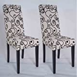 Olivia Parson Chair, Black, Set of 2
