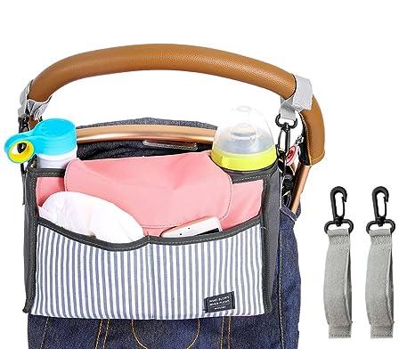 isuperb Stroller Organizador cochecito bolsillos bolso ...