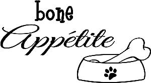 #2 Bone Appetite Cute Puppy Dog Wall Art Wall Sayings