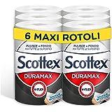 Scottex Duramax Carta Resistente per Tutte le Superfici, 6 Rotoli